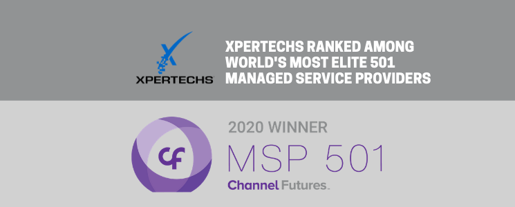 XPERTECHS Ranked Among World's Most Elite 501 Managed Service Providers