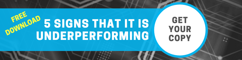 Download 5 Signs That IT is Underperforming